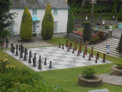 The unmutual news archive statue and chessboard the for Yard flooding problems