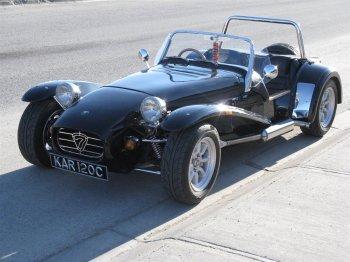 The Unmutual Website Car Vehicle Guide  Lotus 7  The Prisoner